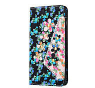 Flower Pattern With Rhinestone Decoration Case For LG V10  LG G4 stylus LG LS770