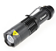 Lights LED Flashlights/Torch / Handheld Flashlights/Torch Laser 1000(lumens) Lumens 3 Mode - / LED 18650 WaterproofCamping/Hiking/Caving