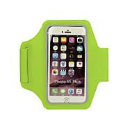 Armband für Laufen Sporttasche Skifest Ultra dünn Multifunktions Tasche zum Joggen iPhone 5/5S Iphone 6/IPhone 6S/IPhone 7Schwarz Orange