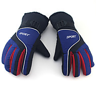 Winter Gloves Unisex Keep Warm Ski & Snowboard  Green / Red / Purple / Peach / Others Canvas Free Size-Others