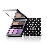 5 Lidschattenpalette Trocken Lidschatten-Palette Kompaktpuder Alltag Make-up Halloween Make-up Party Make-up