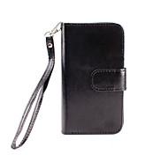 Für Geldbeutel / Kreditkartenfächer / mit Halterung / Flipbare Hülle / Magnetisch Hülle Handyhülle für das ganze Handy HülleEinheitliche