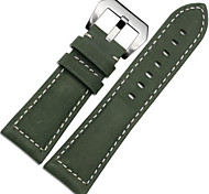 For Garmin Fenix 3 / HR Luxury Genuine Leather 26mm Watch Band Strap