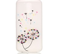 Dandelion Pattern Relief Glow in the Dark TPU Phone Case for Motorola Moto G4 Play / G 4