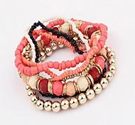 Women Alloy Silver Strand Bracelets