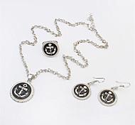 New Fashion European And American Jewelry Sets / Necklace / Earrings / Ring