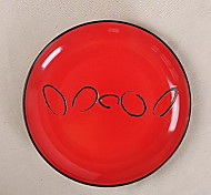Retro Personality Decoration Hand-painted Ceramic Plate