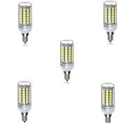 5pcs 69LED E14 LED Corn Lights Led Light 5730 SMD Ampoule Christmas Spotlight Lamparas(AC220-240V)