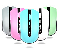 Multicolor Cute Girls 2.4G Wireless Mouse 1000DPI