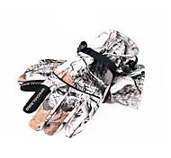 Winter Gloves Unisex Keep Warm Ski & Snowboard / Snowboarding Camouflage Canvas Free Size-Others