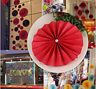 Wedding Supplies Festive Opening Window Decoration Folding Paper Flowers Colorful Paper-Cut Decorative Marriage Room