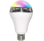 5W E26/E27 Lampadine LED smart B 10 SMD 5730 400 lm Colori primari Wi-fi / Attivazione sonora / Bluetooth AC 85-265 V 1 pezzo