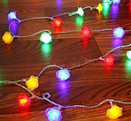 NO 9 M 52 Diodo LED RGB A Prueba de Agua W Cuerdas de Luces AC220 V