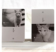 Cats Pda Notepad Small Fresh Animal A5 Blank Notebook