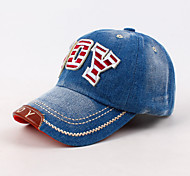 Patch Cap Child Children Boys and Girls Washed Denim Cap