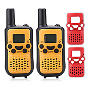 T899BR Walkie Talkie 0.5W 8 Channels 400-470MHz AAA alkaline battery 3KM-5KM VOX / Pantalla LCD / Monitor / Escanear N/ARadio Emisor -