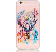 Dreamcatcher Pattern TPU Material Glow in the Dark Soft Phone Case for iPhone 5/5S/SE/6/6S/6 Plus/6S Plus