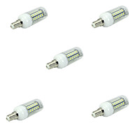 5pcs 48LED E14 LED Corn Lights Led Light 5730 SMD Ampoule Christmas Spotlight Lamparas(AC220-240V)