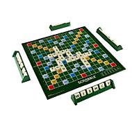 Vintage Score Classic juego de palabras Scrabble Azulejos originales para niños Juegos de mesa