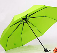 Three Folding Umbrella Fashion Japan And South Korea Mabu Umbrellas Advertising Gift Umbrella Small Fresh
