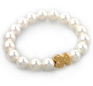 Strand Bracelets 1pc,White Bracelet Fashionable Round Jewellery