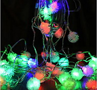 New Year Flashing Christmas Lights String Of Holiday Stars Neon Waterproof Led