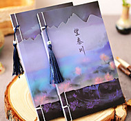 Chinese Classical Wire-Bound Notebook Notepad