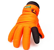 Ski Gloves Winter Gloves Unisex Keep Warm Ski & Snowboard / Snowboarding Gold / Orange Canvas Free Size