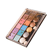 18 Lidschattenpalette Trocken Lidschatten-Palette Kompaktpuder Alltag Make-up Halloween Make-up Party Make-up