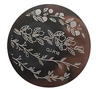 1pcs New DIY Beauty Image Nail Stencils Nail Art Stamping Plates Fashion Designs Polish Templates DIY Tools