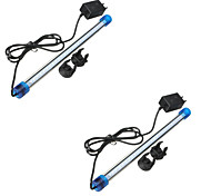 2PCS 30CM 27SMD 2835 Aquarium Fish Tank Waterproof Blue/White/multicolorLED Light Bar Submersible Down Lamp