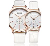KEZZI® simple fashion style  quartz couple watch 1099K