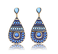 2016 New Fashion Bohemia Vintage Water Drop Earrings 5 Colors High Quality Long Earring For Women Jewelry
