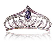 Women's Flower Girl's Alloy Silver Tiaras