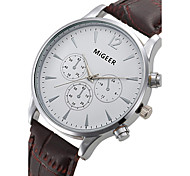 Fashion Dress Watches Men Leather Strap Quartz Watch Fashion Men's Wristwatch Business Casual Watch Relogio Feminino