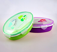 YEEYOO Brand Plastic Container for Food with Dividers