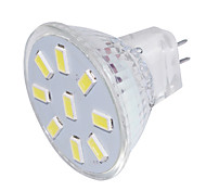 2 GU4(MR11) Focos LED MR11 9 SMD 5733 150 lm Blanco Cálido / Blanco Fresco Decorativa 09.30 V 1 pieza