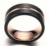 Муж. Классические кольца Мода бижутерия Вольфрамовая сталь Бижутерия Назначение Повседневные