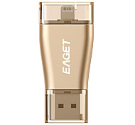 EAGET I50 64G USB3.0/Lightning OTG Mini Flash Drive U Disk for iPhones, iPads, Mac/PCs