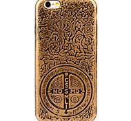 espalda Enchapado / Other Other Other Suave Luxury Plating+Soft Case Cubierta del caso para Apple iPhone 6s Plus/6 Plus / iPhone 6s/6