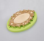 Зеркало форма торт украшение силиконовая плесень мыло ручной работы мыло формы кухня выпечка цвет случайный