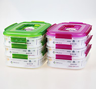 yooyee bpa marca impermeable hermético contenedor de múltiples compartimientos libre con mango