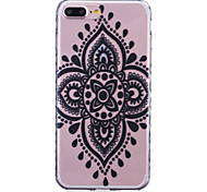 TPU Material Chinese Knot Pattern Painted Slip Phone Case for iPhone 7 Plus/7/6s Plus / 6 Plus/6S/6/SE / 5s/5/5C