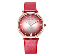 Women's Fashion Quartz Casual Watch Two-seconds Beautiful Color Round Alloy Dial Watch Cool Watch Unique Watch