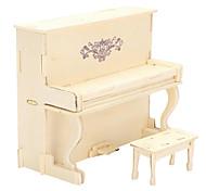 Пазлы 3D пазлы Деревянные пазлы Строительные блоки Игрушки своими руками Пианино Дерево