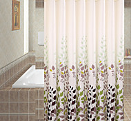 Polyester Thicken Waterproof Shower Curtains Bathroom Curtains