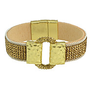 Rhinestone Wide Magnetic Bracelets Bangles