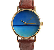 Beautiful Blue Ocean World Quartz Watch