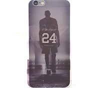No. 24 Jersey HD Pattern Embossed Acrylic Material TPU Phone Case For iPhone 7 7 Plus 6s 6 Plus