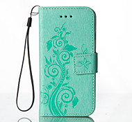 Embossed Leather Wallet for Huawei P8Lite P9Lite